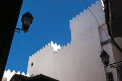 Tangier, Tangiers, Tanger, Maroko, Afryka, afryka pólnocna, Maghreb wybrzeże, cieśnina Gibraltar, morze śródziemnomorskie, Atlant Obraz Stock