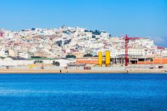 Tangier w Maroko Obrazy Royalty Free