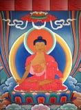 Tangka art. The tangka art is very populate in tibet Royalty Free Stock Images