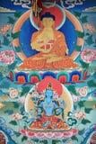 Tangka art. The tangka art is very populate in tibet Stock Photo