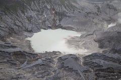 Tangkuban Parahu火山口 免版税库存照片