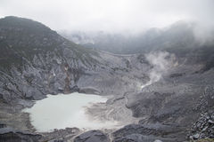 Tangkuban Parahu Crater Stock Photo