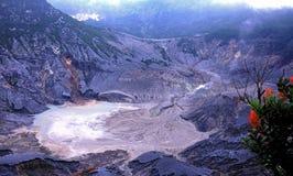 Tangkuban parahu . Mt. Queen creater of tangkuban parahu Mt Stock Photo