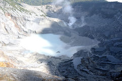 Tangkuban Perahu Mountain Royalty Free Stock Images