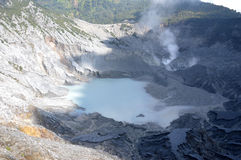 Tangkuban Perahu Mountain Royalty Free Stock Photo