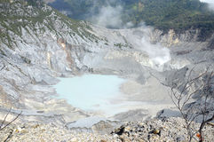 Tangkuban Perahu Mountain Stock Photography