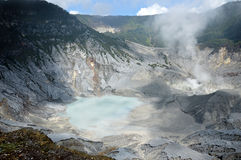 Tangkuban Perahu Mountain Royalty Free Stock Photography