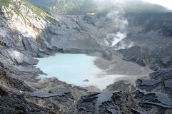 Tangkuban Perahu Mountain Stock Photo