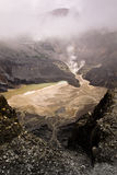 Tangkuban Perahu Volcanic Crater Stock Photography