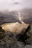 tangkuban vulkaniskt för kraterperahu Arkivbild