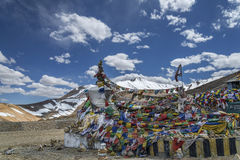 Tanglang La pass in Ladakh mountains 5400 meters Royalty Free Stock Photography