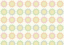 Tangle Ball Pattern on Pastel Color Royalty Free Stock Photos