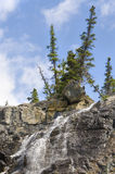 Tangle Creek Falls in Canada Royalty Free Stock Photo