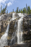 Tangle Creek Falls in Canada Royalty Free Stock Photos
