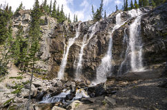 Tangle Creek Falls in Canada Royalty Free Stock Photography