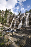 Tangle Creek Falls in Canada Stock Photo