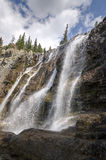 Tangle Creek Falls in Canada Stock Image