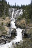 Tangle Creek Waterfalls. Tangle Creek Waterfalls in Jasper National Park Stock Image