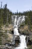 Tangle Creek Waterfalls. Tangle Creek Waterfalls in Jasper National Park Stock Photography