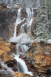 Tangle Falls in Winter Stock Photos