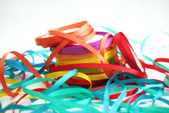 Tangle of ribbons Royalty Free Stock Images