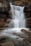 Tangle Waterfall Alberta Canada. Jasper Highway cascade Stock Photos