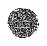 Tangle wire royalty free stock photography