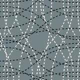 Tangled curvy lines seamless pattern, repeat endless back. Ground, artistic stripes trendy tiling wallpaper motif. Usable for fabric, wallpaper, wrapping, web royalty free illustration