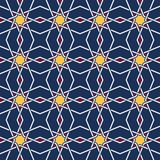 Tangled Eastern Pattern Royalty Free Stock Photography