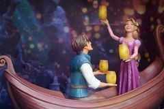 Tangled figurines Royalty Free Stock Photo