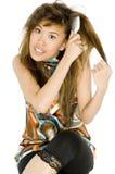 Tangled Hair royalty free stock photo