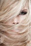 Tangled hair Stock Image