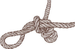 Tangled knot Royalty Free Stock Images