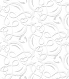 Tangled lines layered seamless Royalty Free Stock Images