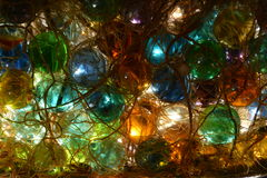 Tangled Marbles Royalty Free Stock Images