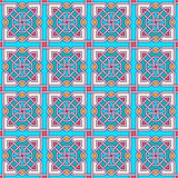 Tangled Modern Pattern royalty free illustration
