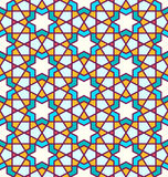 Tangled Pattern Based On Traditional Islam Pattern Royalty Free Stock Photos