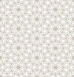 Tangled Pattern Based On Traditional Islam Pattern Royalty Free Stock Images