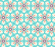 Tangled Pattern based on traditional islam pattern Stock Images