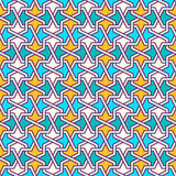 Tangled Pattern based on traditional islam pattern Stock Photos