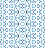 Tangled Pattern based on traditional islam pattern Stock Image