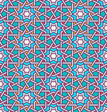 Tangled Pattern based on traditional islam pattern. Tangled modern pattern, based on traditional oriental arabic patterns. Seamless vector background. Plain Stock Photo