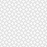 Tangled Pattern based on traditional islam pattern. Tangled modern pattern, based on traditional oriental arabic patterns. Seamless vector background. Plain Royalty Free Stock Images
