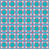 Tangled Pattern. Tangled modern pattern, based on traditional oriental patterns. Seamless vector background. Plain colors - easy to recolor Stock Images