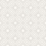 Tangled Pattern. Tangled modern pattern, based on traditional oriental patterns. Seamless vector background. Two colors - easy to recolor Stock Images