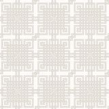Tangled Pattern. Tangled modern pattern, based on traditional oriental patterns. Seamless vector background. Two colors - easy to recolor Stock Photo