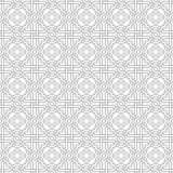 Tangled Pattern with Quatrefoils Stock Photo
