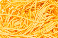 Tangled spaghetti Stock Photo