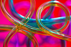 Tangled tubes Stock Photo