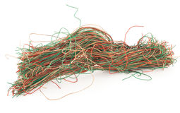 Tangled wire Royalty Free Stock Photos